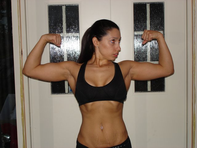 Vanessa Frykman Muscles