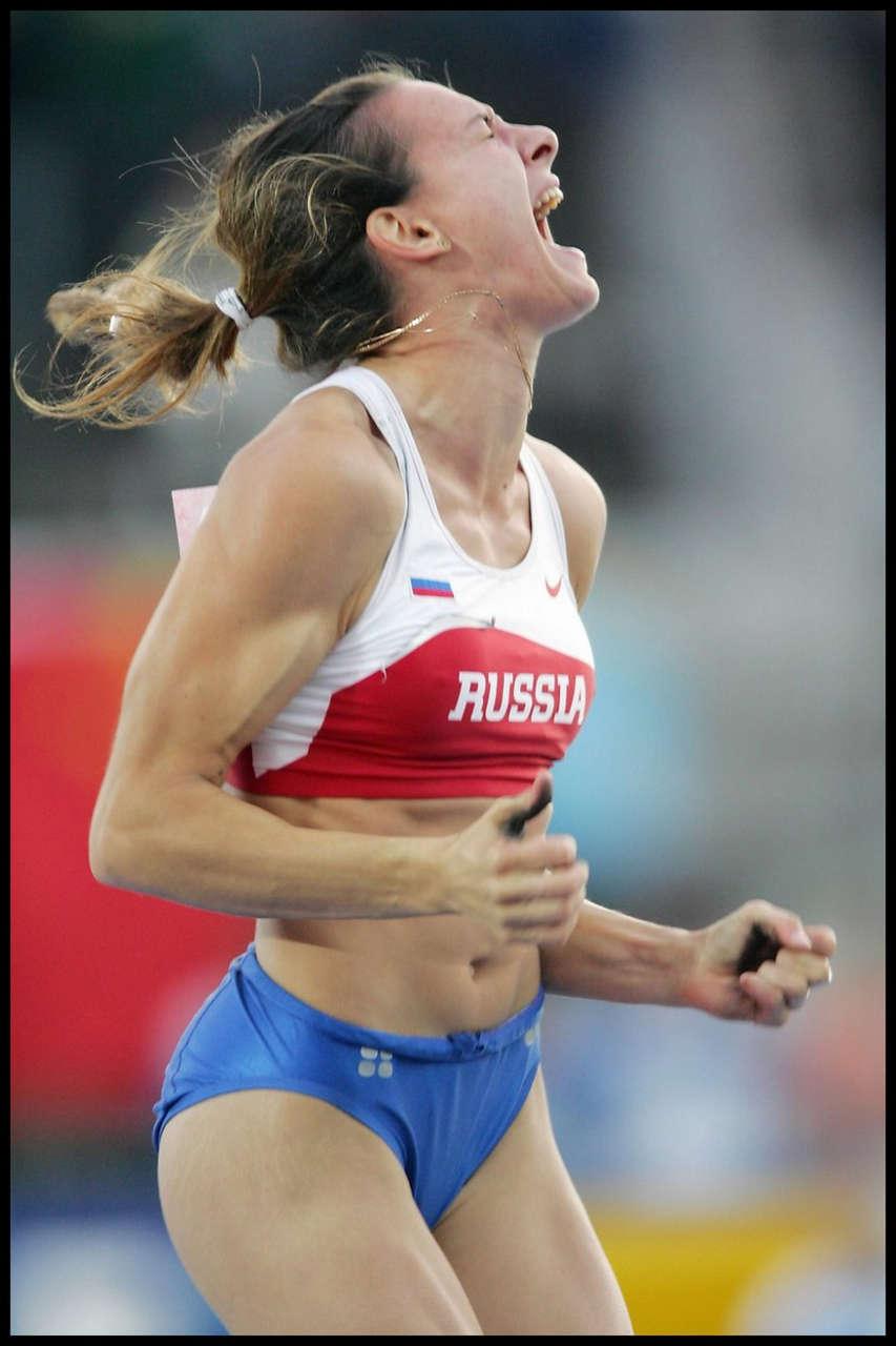 Yelena Isinbayeva Muscles