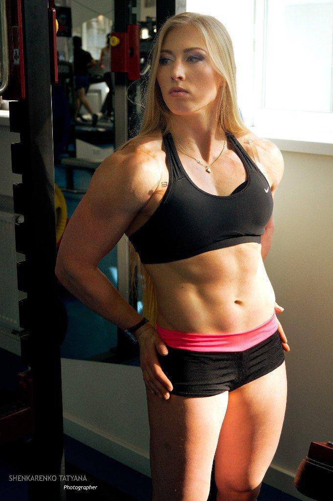 Yulia Shenkarenko Muscles