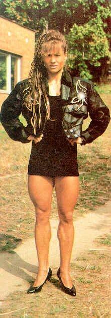 Zuzana Korinkova Muscles