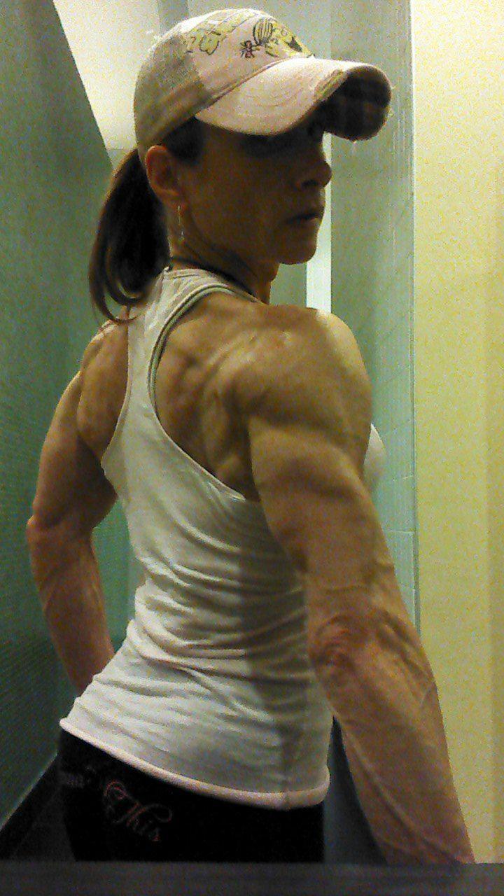 Keri Batura Muscles