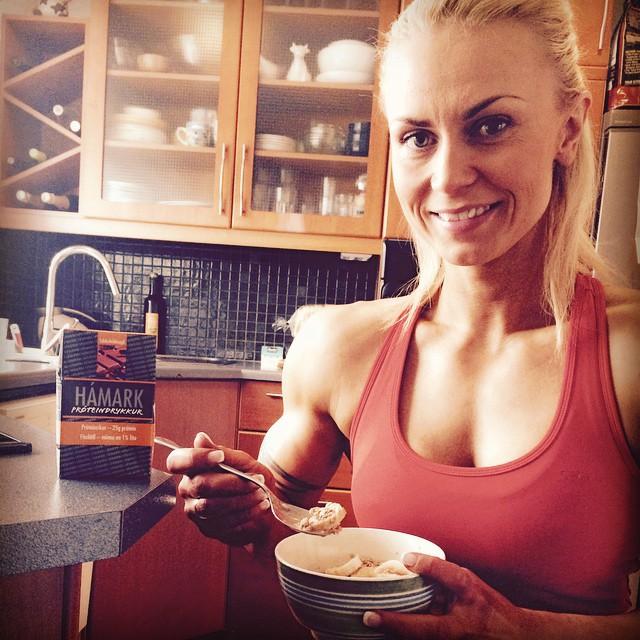 Kristin Sveiney Baldursdottir Muscles