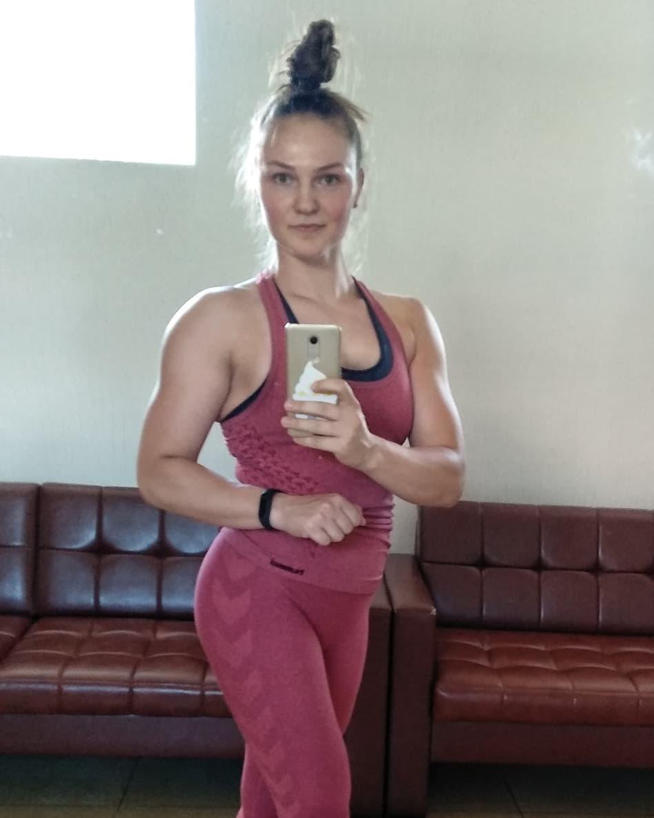 Marina Andrievskaya Muscles